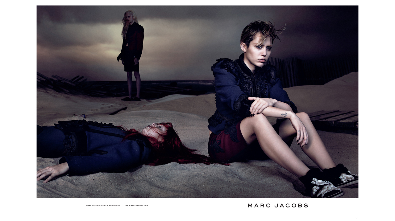 EDITORIAL: MILEY FOR MARC
