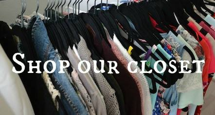 EVENT: SHOP OUR CLOSET