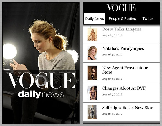 STAY TRENDY WITH VOGUE