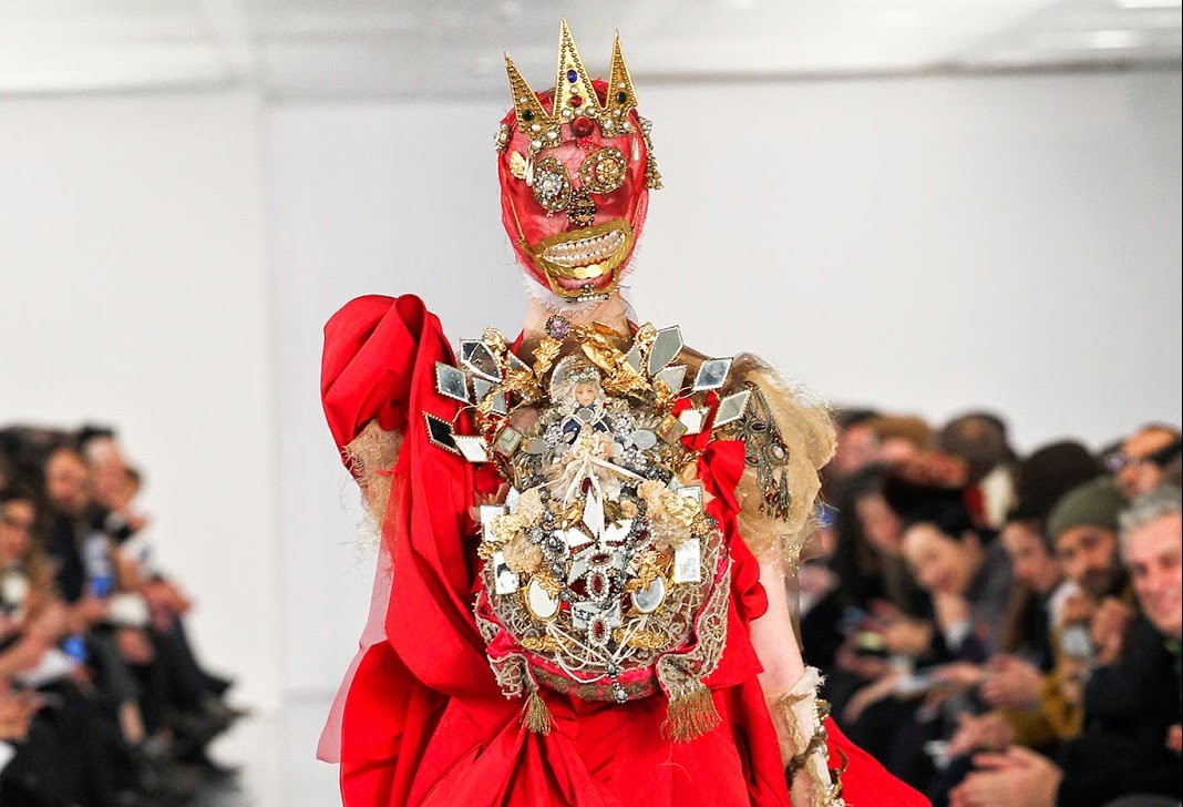 Frist look: Galliano for Maison Martin Margiela