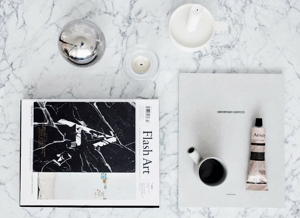 INSPIRATION: MY MARBLE INTERIOR OBSESSION