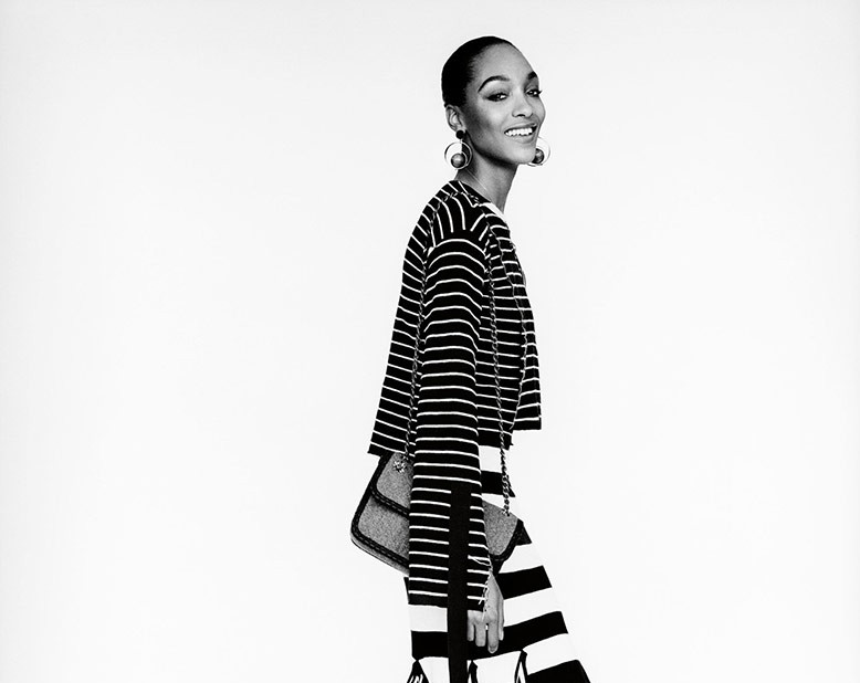 Jourdan Dunn for W