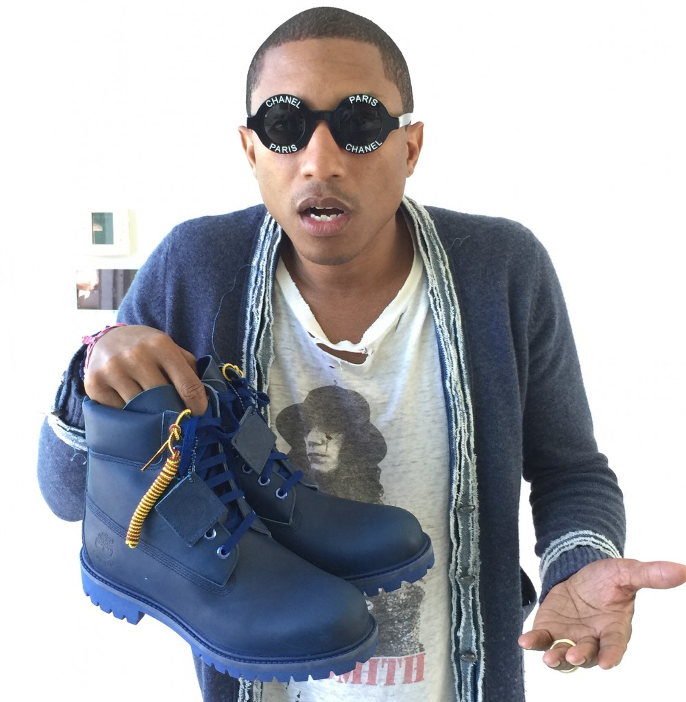 FEELING BLUE: TIMBERLAND X PHARRELL