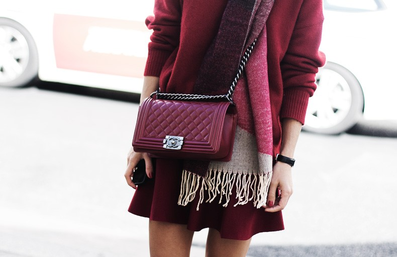 3 WAYS TO WEAR BORDEAUX WITHOUT LOOKING LIKE SANTA