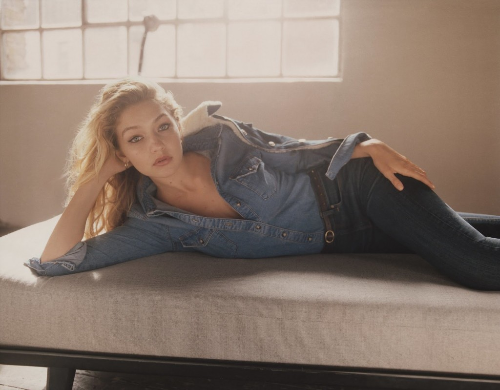 EDITORIAL: GORGEOUS GIGI HADID FOR TOPSHOP