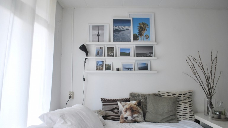 Webprint photo wall