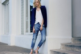 fashion inspiration boyfriend jeans