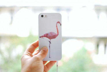 Juniqe flamingo phone case