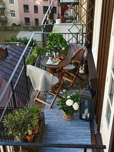 Interior inspiration balcony