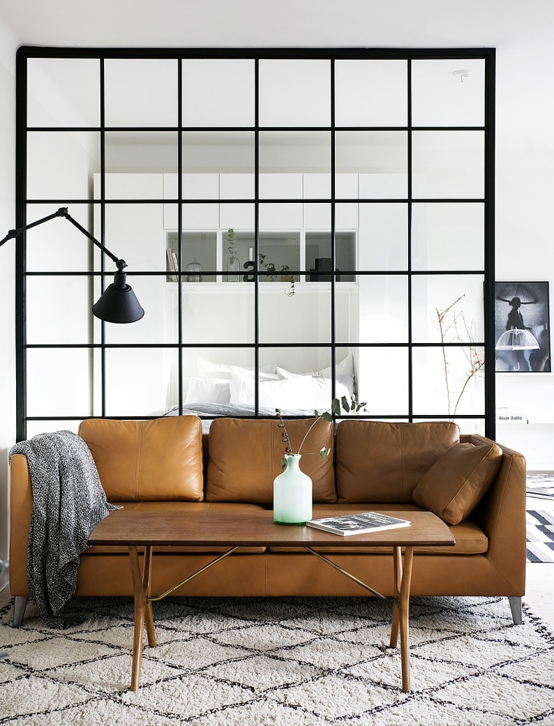 Bruin Leren Design Bank.Interior Inspiration Cognac Couch Please Xanns Place