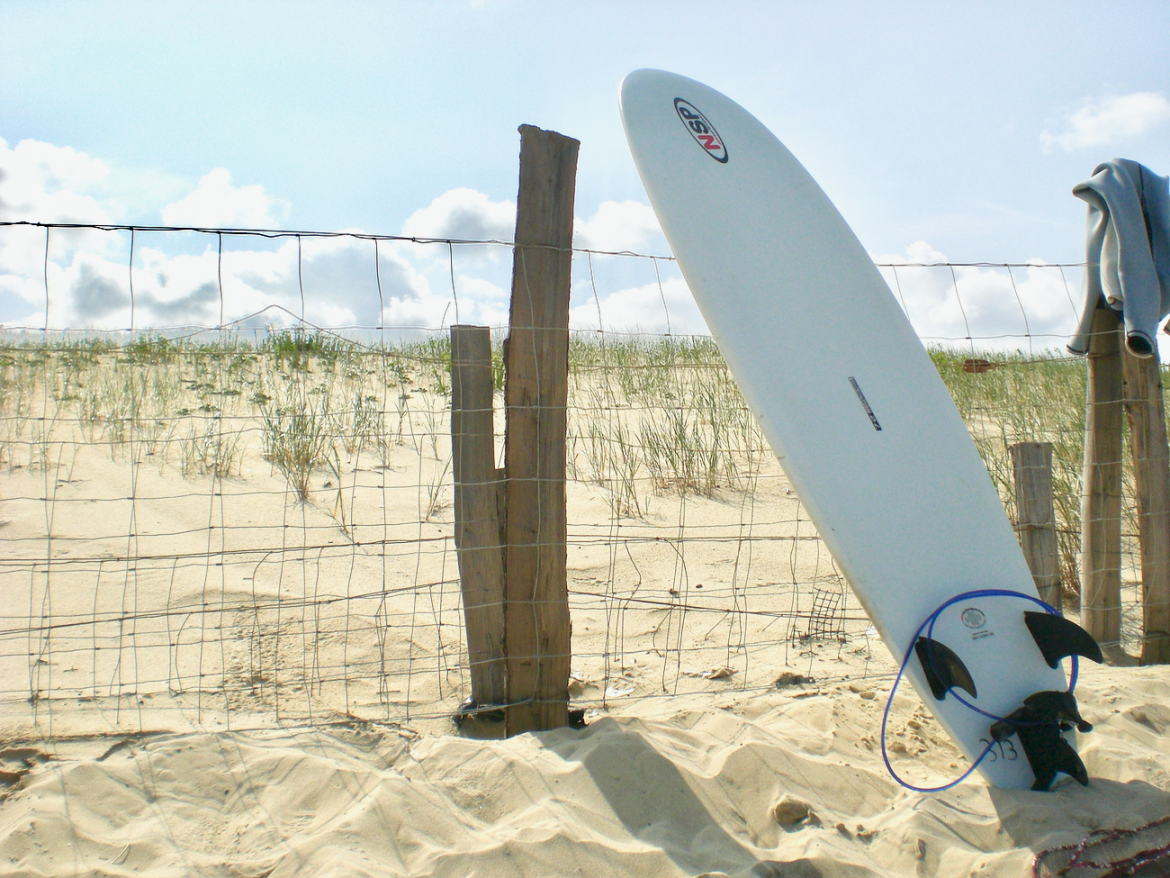 Surfing in South France - Mimizan